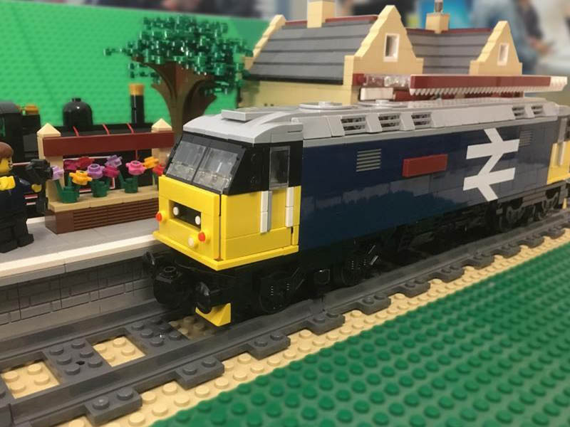 LEGO model of BR Class 47