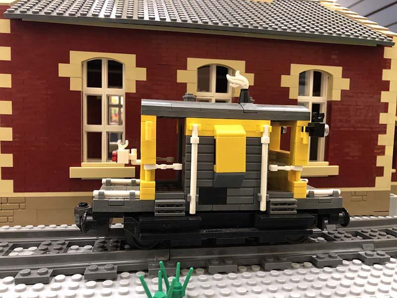LEGO model of 20t Brakevan (E) (ZTV)