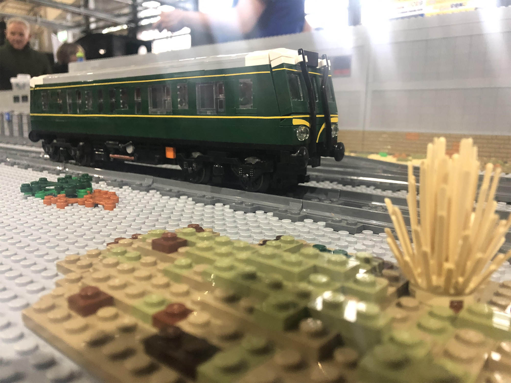 LEGO model of Class 121 DMU
