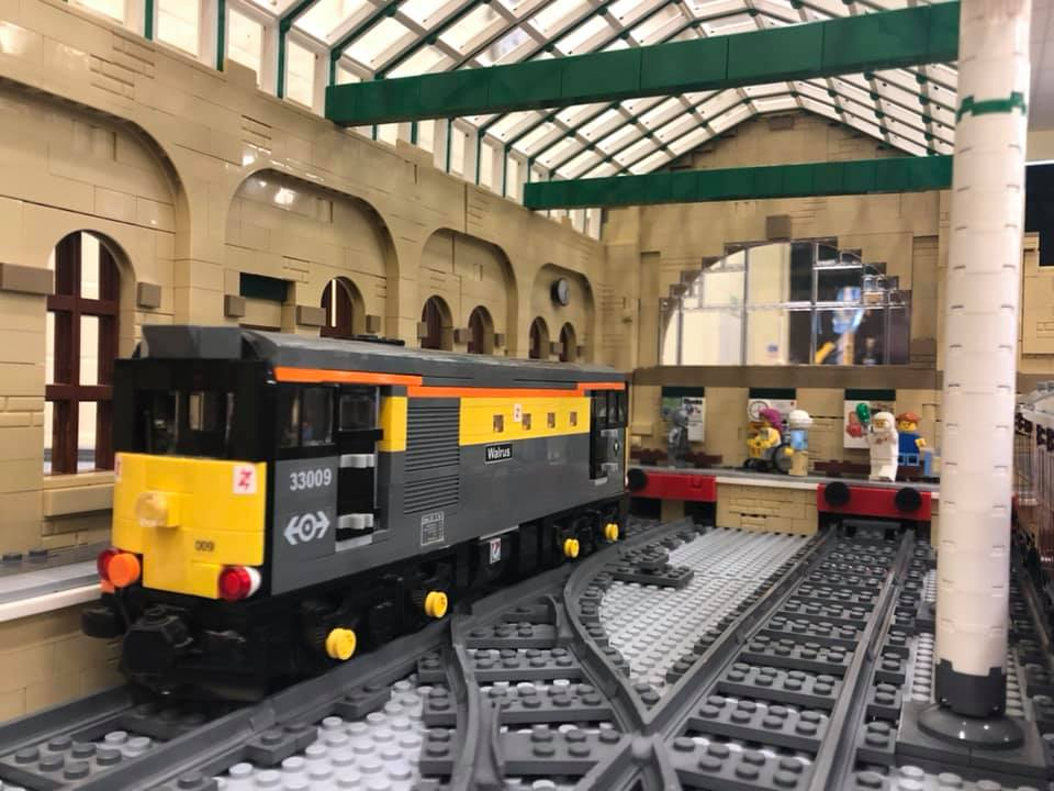 LEGO model of BR class 33