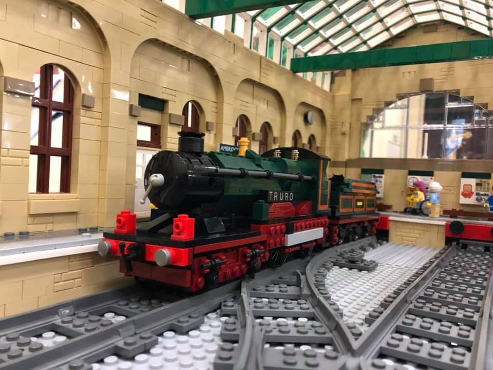 LEGO model of GWR City Class - Truro