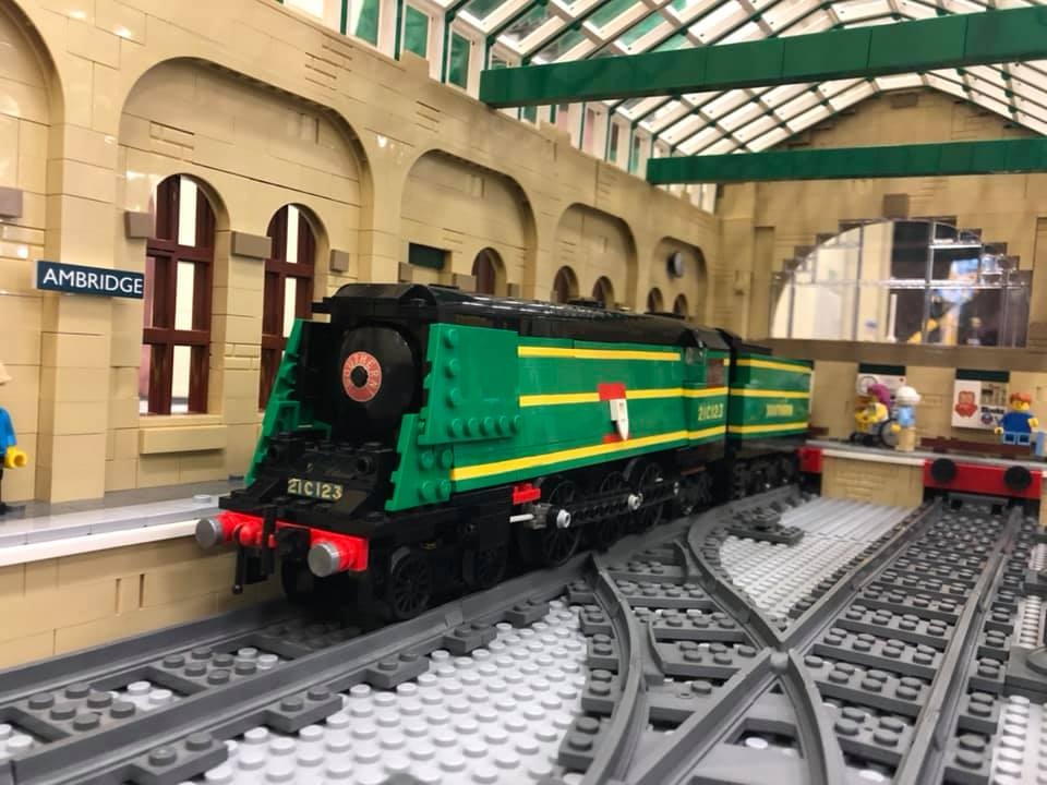 LEGO model of Southern Railway Bulleid West Country Class