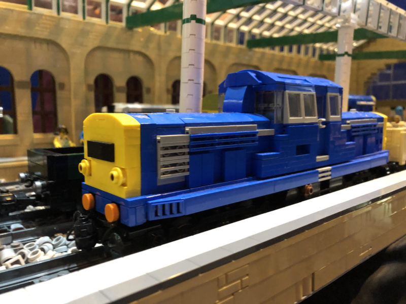 LEGO model of BR class 17