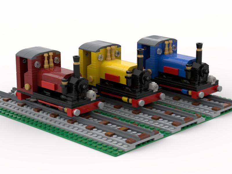 LEGO narrow gauge railway