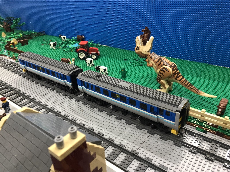 LEGO model of Super Sprinter