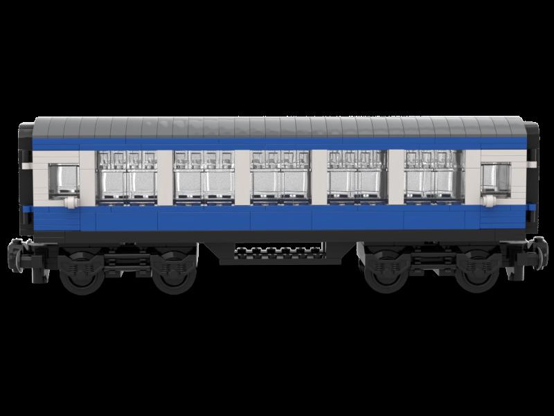 LEGO model of LNUR mk0.5 standard TSO