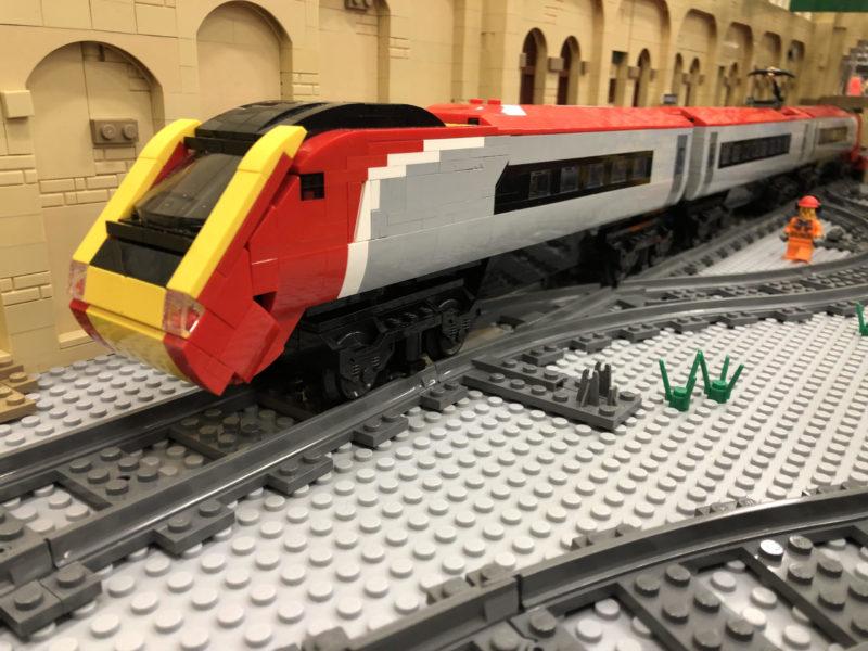 LEGO model of Pendolino (class 390)