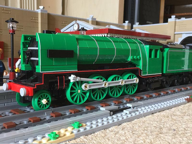 LEGO model of P2