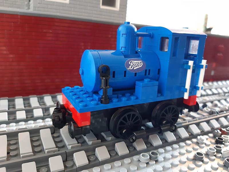 LEGO model of Boots No. 2