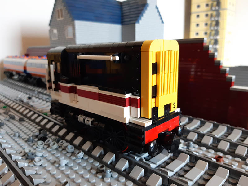 LEGO model of BR Class 08