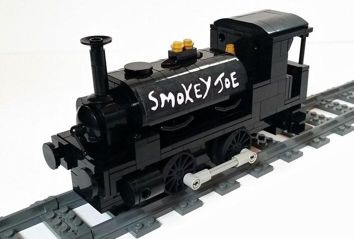 LEGO model of Smokey Joe