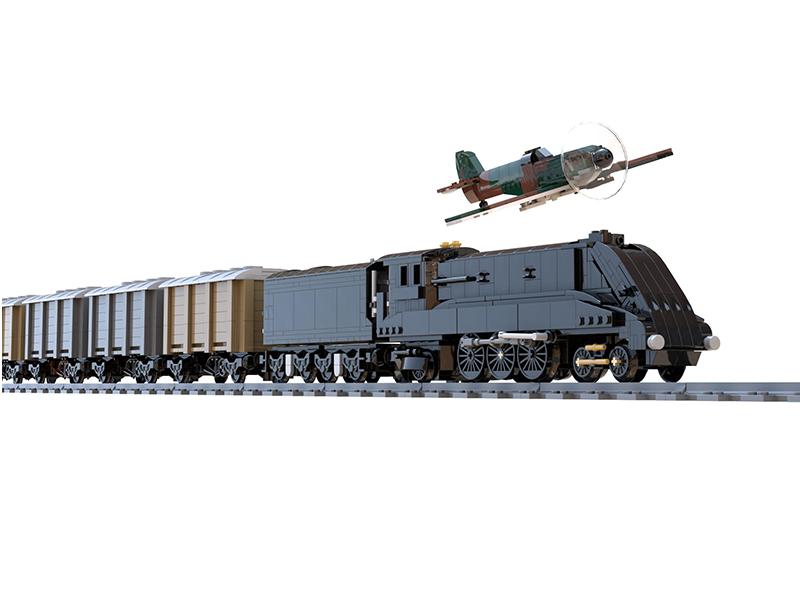 LEGO model of A4