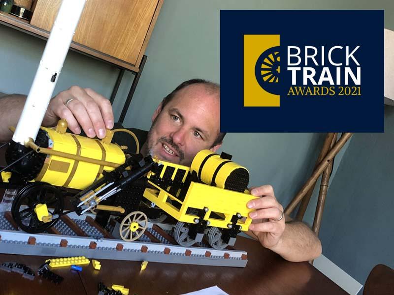 LEGO photography workshop - Brick Train Awards 2021