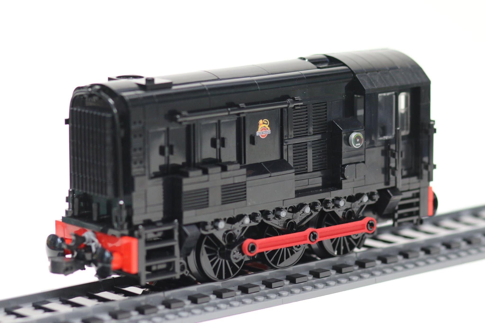 LNUR awards - first prize 2020 - BR class 08 by Paul Robinson